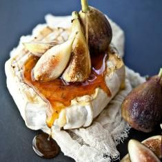 Grilled Soft Cheese, Thyme Honey And Fresh Figs (via www.foodily.com/r/d5XSoBhl9-grilled-soft-cheese-thyme-honey-and-fresh-figs-by-not-without-salt)
