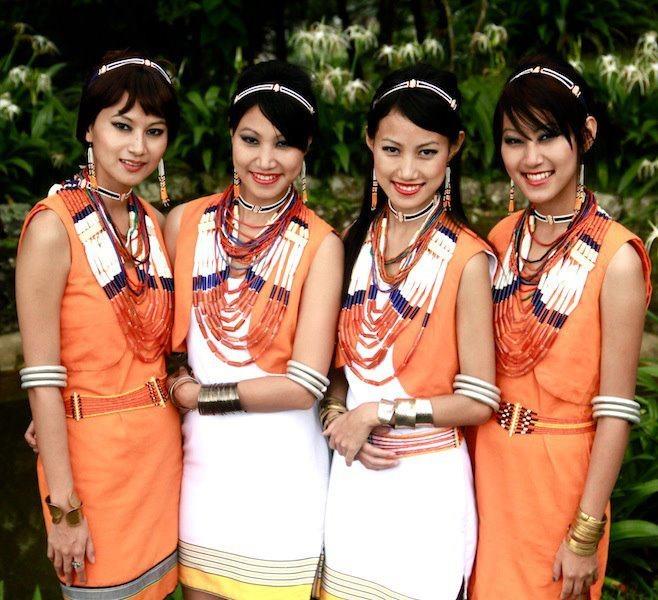 Beauties. folk singers of Nagaland -Tetseo Sisters.