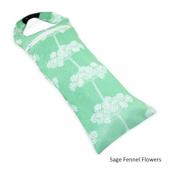 Yoga Sandbag - in Sage Fennel Flower Print