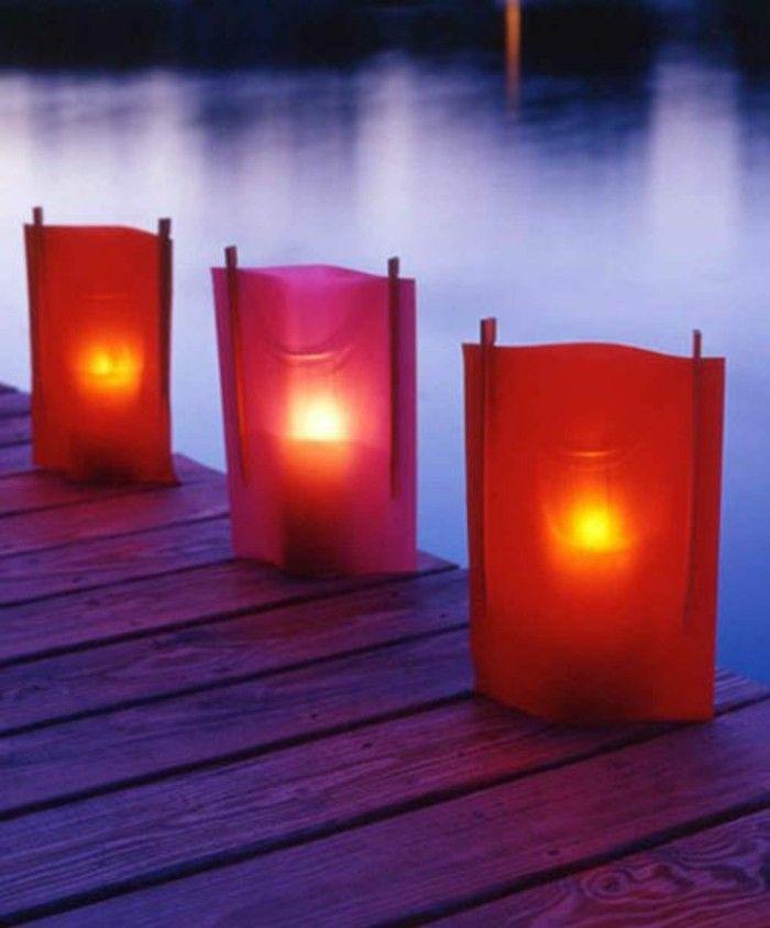 Superb beleuchtung wohnzimmer indirekte beleuchtung windlichter basteln