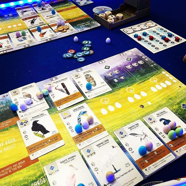 Wingspan Its Not Often We Play A New Game Back To Back But Wow This Was So Much Fun It Needed Another Play Straight Awa Games Tabletop Games Games Tomorrow