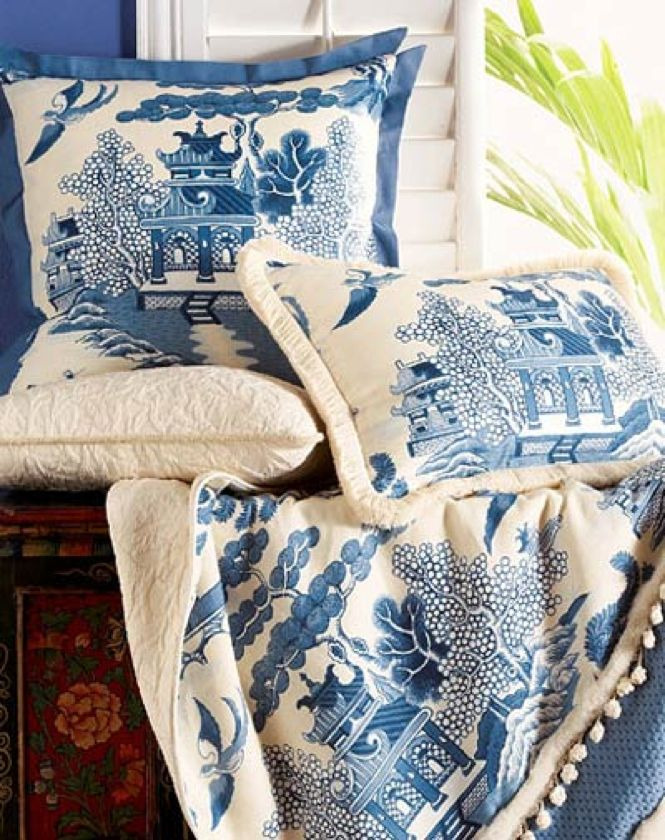 Shopping With Carolyne Roehm: Blue & White Accessories — The New York Times…