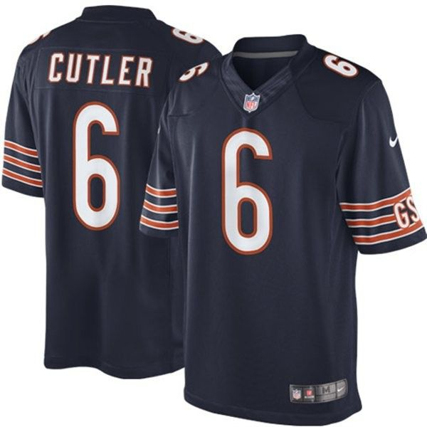 Nike Jay Cutler Chicago Bears Limited Jersey