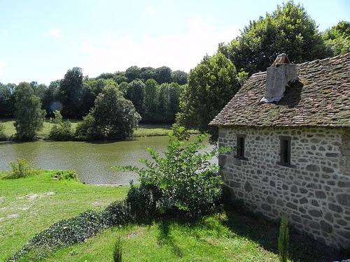 France.  Haute Vienne in the Limousin.  A region of lakes and rivers, ancient buildings and lush countryside
