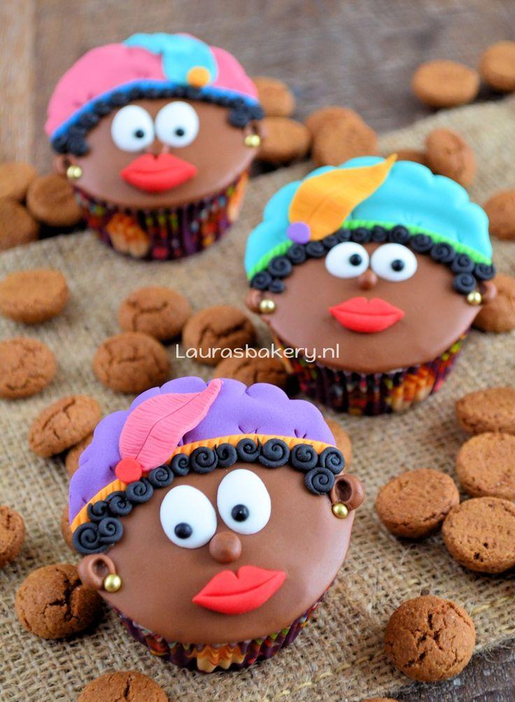 Zwarte Pieten Cupcakes - Laura's Bakery