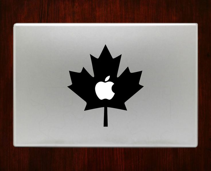 Canada Flag Patriotic Maple Leaves Decal Stickers For Macbook - Vinyl decal stickers canada