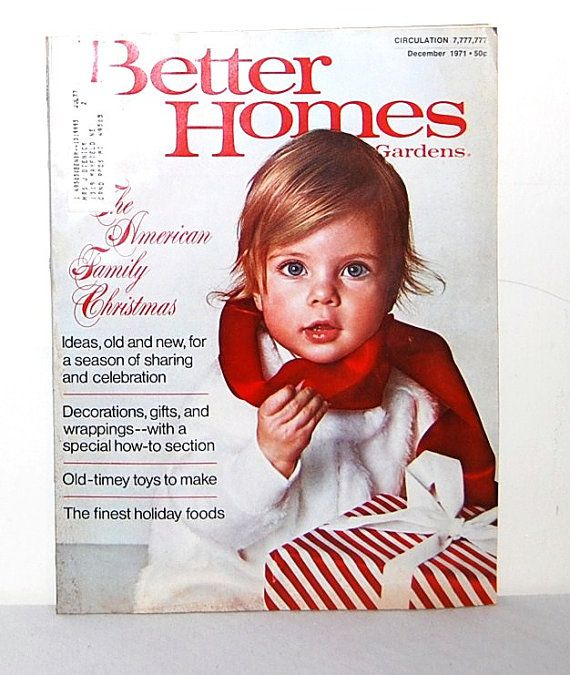 Bhg Magazine Covers: 17 Best Images About Vintage Better Homes & Garden