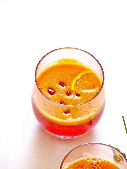 Pomegranate Orange Crush — juicy joy to help fight aging