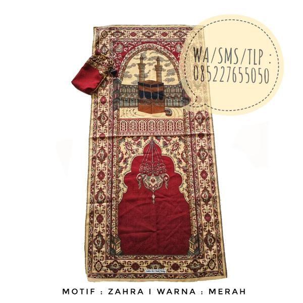 Beli Sajadah Lipat Motif Zahra Merah dari Permana Jaya Store grosirsajadahmurah - Banjarnegara hanya di Bukalapak