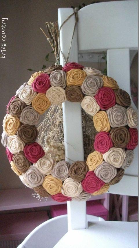 """Rózsakoszorú - """"Október"""", Baba-mama-gyerek, Otthon, lakberendezés, Dekoráció, Esküvő, Meska"""