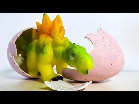 Dinosaurs Egg Surprise Hatching Timelapse video Dinosaurs toys - YouTube