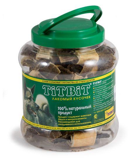 Лакомство для собак  TiTBiT «Бантики с говяжьим желудком », 500г