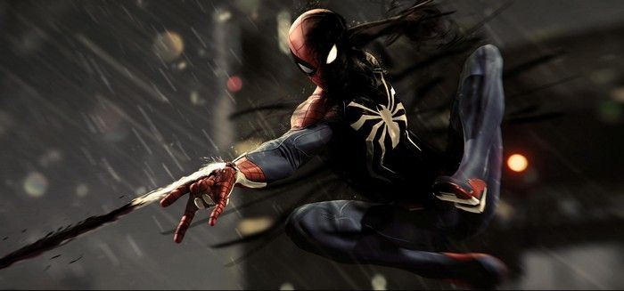 Spiderman Ps4 Games Hd 4k Games Superheroes Reddit Ps Games Artwork Artist Superheroe Ipad Pro Wallpaper Android Wallpaper Black Spiderman