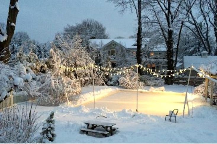 My three brothers and I thought my father invented the concept of the backyard ice skating rink. It was the hit of our suburban Chicago neighborhood in the 1970s, and the principles for building a DIY backyard rink remain the same today. Read on: