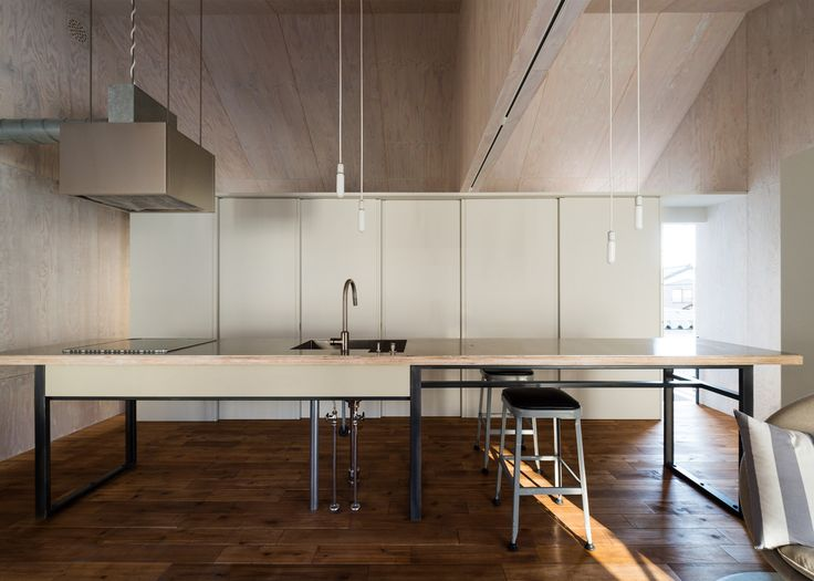 Go Bang House by Takeru Shoji Architects references traditional Japanese farmhouses