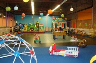 Things to do with kids: Drop-In Indoor Play Spaces: open ended and has flexible space and material  the color is great looking