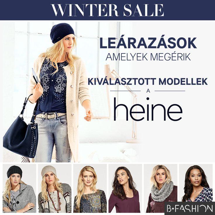 Leértékelések, ami megéri 🔷👑 Kiválasztott modellek a HEINE-től 👉http://hu.bfashion.com/winter-sale-heine