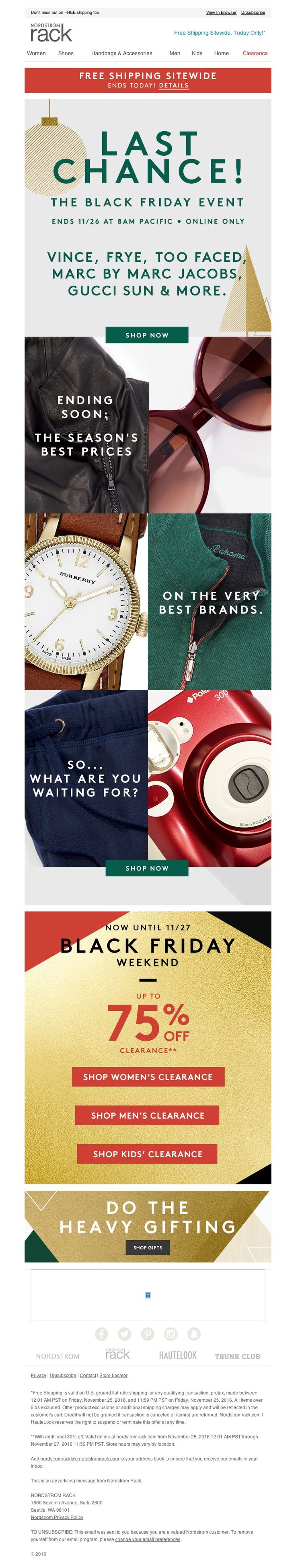 Nordstrom Rack - Vince, Converse & more—the Black Friday Event ends soon