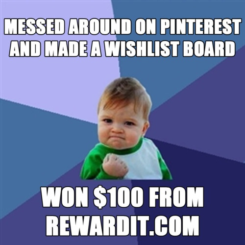 Success! ----> http://bit.ly/HRVldO #win #contest #sweepstakes