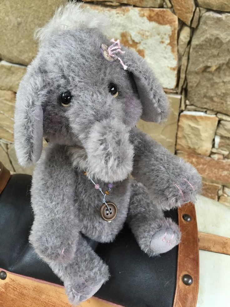 Trumpette Isabelle Collection Alpaca Charlie Bears Elephant
