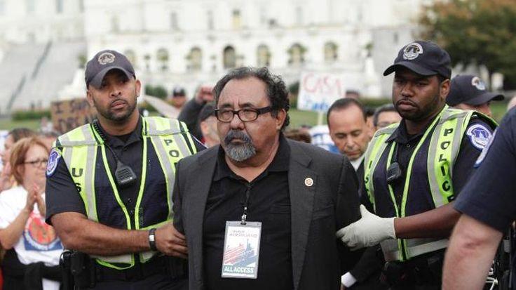Lawmakers Arrested: March on Washington for Immigration Reform - http://www.socialworkhelper.com/2013/10/09/lawmakers-arrested-march-washington-immigration-reform/?Social+Work+Helper via Social Work Helper