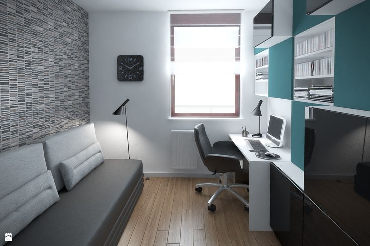 Wystrój wnętrz - Biuro - styl Nowoczesny. Projekty i aranżacje najlepszych designerów. Prawdziwe inspiracje dla każdego, dla kogo liczy się dobry gust i nieprzeciętne rozwiązania w nowoczesnym projektowaniu i dekorowaniu wnętrz. Obejrzyj zdjęcia!