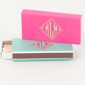 Monogram Goods, $49 for fifty. great hostess gift