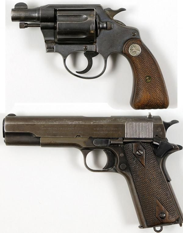 The Guns Used By Gangsters Bonnie Parker & Clyde Barrow Gangland Community/Facebook