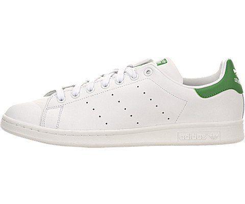 Adidas Men's Stan Smith White/Fairway (9.5, White/Fairway) - http://buyonlinemakeup.com/adidas/9-5-d-m-us-adidas-mens-stan-smith-white-green-leather-25