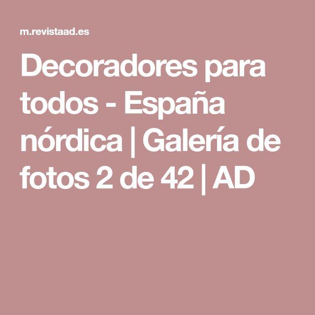 Decoradores para todos - España nórdica   Galería de fotos 2 de 42   AD