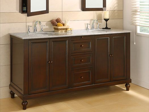 Bathroom Sinks With Cabinet 51 best double vanities images on pinterest | bathroom ideas