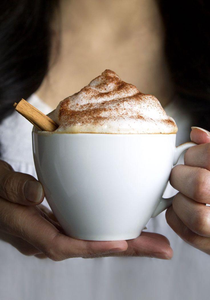 Easy Almond Milk Cappuccino | Dairy Free, Vegan And Paleo Friendly!
