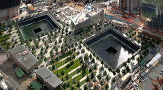 The National September 11 Memorial & Museum (branded as 9/11 Memorial and 9/11 Memorial Museum) is the principal memorial and museum commemorating the September 11 attacks of 2001, which killed approximately 3,000 people, and the World Trade Center bombing of 1993, which killed six. The memorial is located at the World Trade Center site, on the former location of the Twin Towers destroyed during the attacks. The World Trade Center Memorial Foundation was renamed the National September 11…