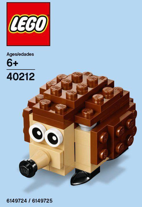 LEGO® Hedgehog Mini Model - 40212