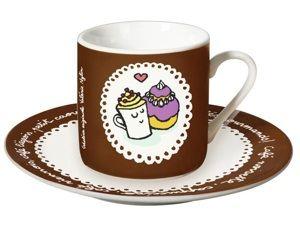 Tasse P'tit caoua - Café viennois - Cappuccino - Café noisette - Cafés gourmands