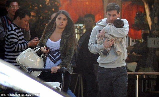 "Lionel Messi Blog: Lionel Messi's Son ""Thiago Messi"" - Photo Collection"