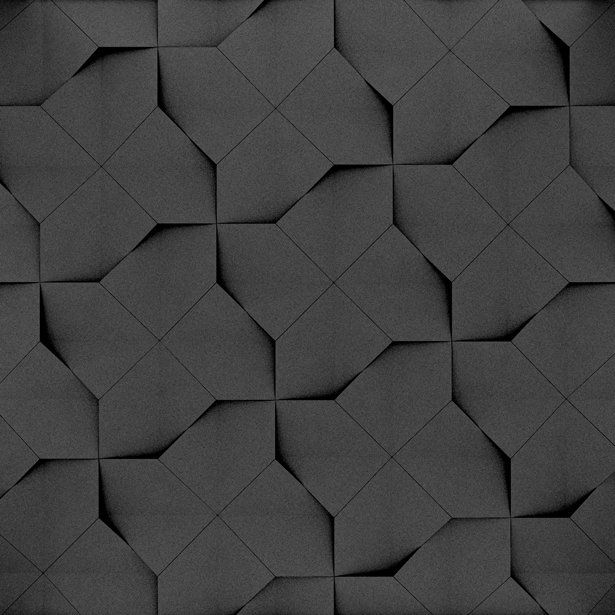 Fluffo, Fabryka Miękkich Ścian. Miękkie panele ścienne 3D, wzór CLIP, opcje ułożenia.