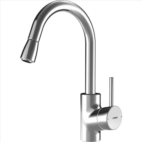 Hansa Cuisine Sink Mixer (Pull Down Spout) $1039