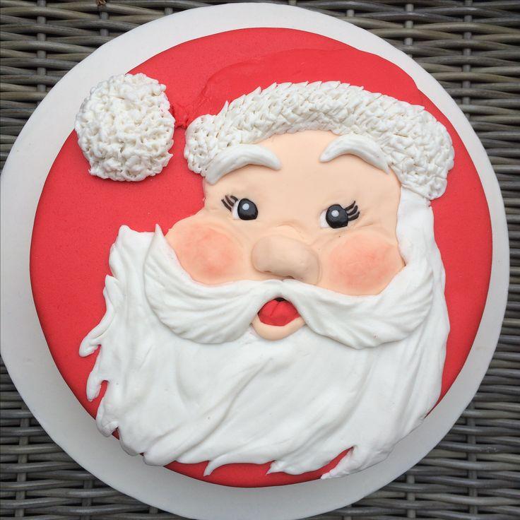 Santa taart door DOLCEDIFRANCISCA  Dec 2016 Franciska Bark
