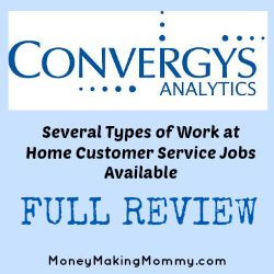Convergys – Offers a Variety of Work at Home Jobs