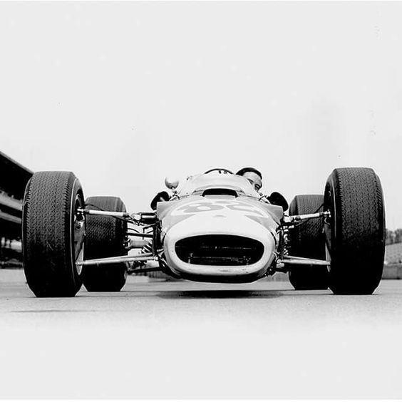 "itsbrucemclaren: "" Jim Clark - Lotus 38 Ford - Team Lotus - International 500 Mile Sweepstakes - 1965 USAC National Championship Trail, round 3 """