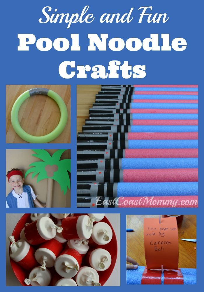 pool noodle craft projects dollar store crafts kid blogger network activities crafts. Black Bedroom Furniture Sets. Home Design Ideas