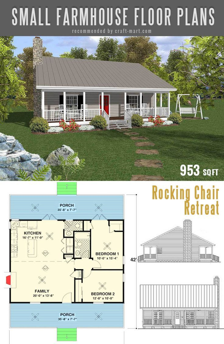 Small Farmhouse Plans For Building A Home Of Your Dreams Craft Mart Simple Farmhouse Plans Small Farmhouse Plans Farmhouse Plans