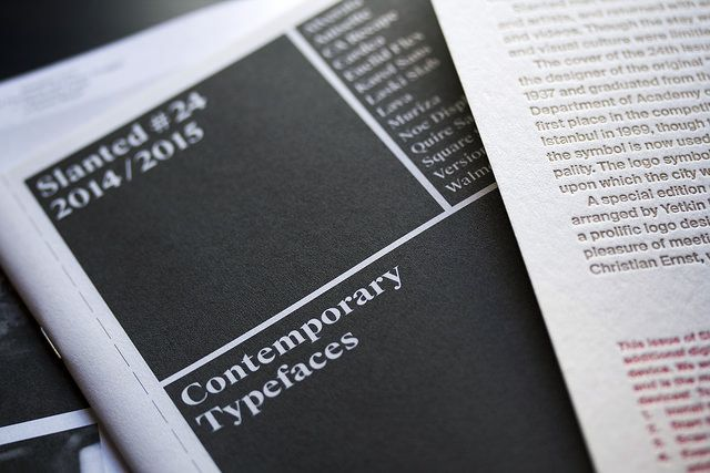 Gerard Unger's Alverata featured in the booklet 'Contemporary Typefaces, included in Slanted magazine 24, devoted to Istanbul's type and design scene. You can order a copy of the magazine here www.slanted.de/shop/slanted-24-istanbul
