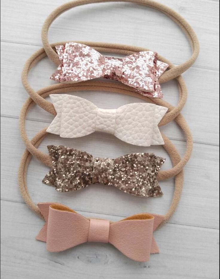 DIY inspiration to add to Clarke's arsenal of bows.