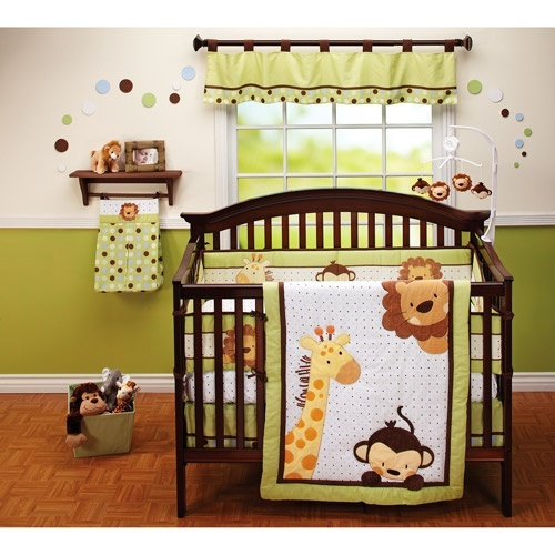 Cute Jungle Nursery