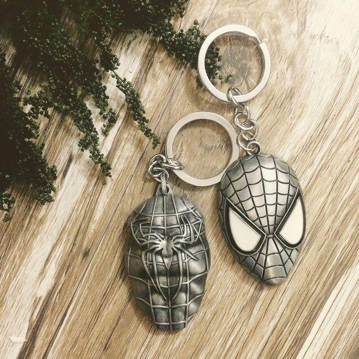 "Móc chìa khóa #spiderman ""With great power comes great responsibility"" - Spider Man  #Giá: #50k: 1 chiếc #90k: cả bộ 2 chiếc  #hanoi #vietnam #cute #keychain #forteen #instagood"