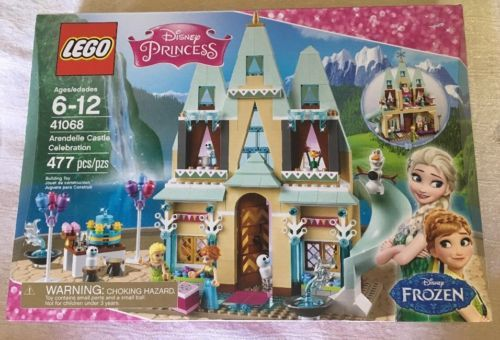 Lego Disney Princess Frozen Arendelle Castle Celebration 41068 Anna 477 Pieces