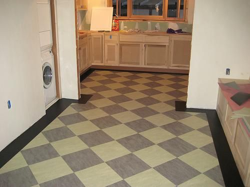 Linoleum Kitchen Floor Tiles   GharExpert