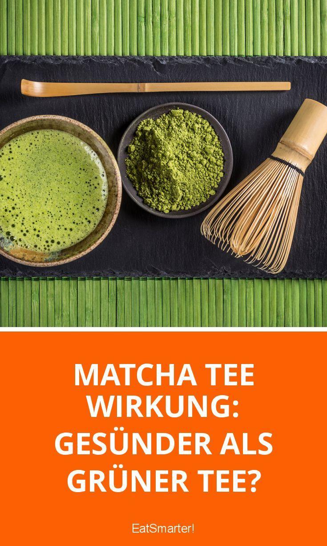 Grüner Tee oder Matcha-Tee? Welcher Tee ist gesünder? ▸ http://eatsmarter.de/ernaehrung/gesund-ernaehren/matcha-tee-wirkung